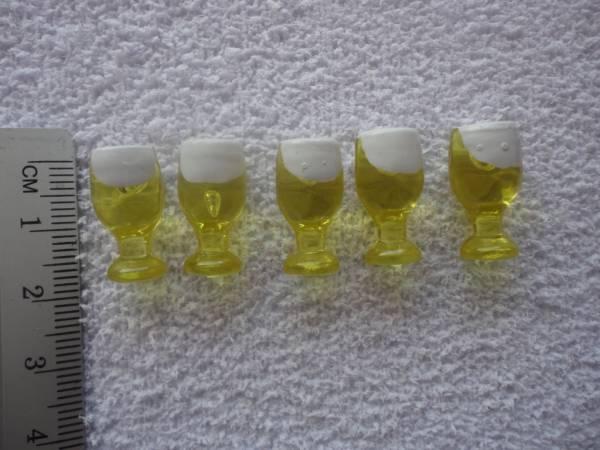 Foto2 - Cód M631 Miniatura taça cerveja c/ 10 un