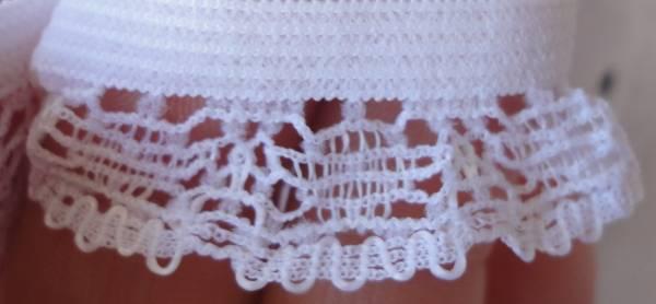 Foto2 - Cód M721 Renda com elástico (branco)
