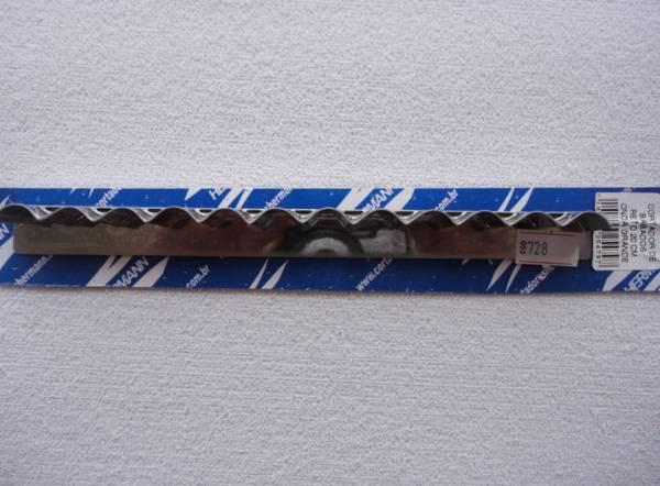 Foto 1 - Cód M728 Cortador inox reto onda (grande) 20 cm (H)