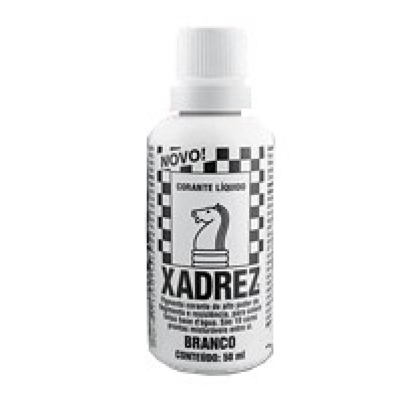 Foto 1 - Cód M791 Corante líquido xadrez branco 50 ml