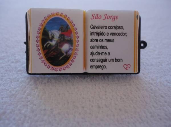Foto2 - Cód M838 Miniatura de bíblia (Santos) 1 un