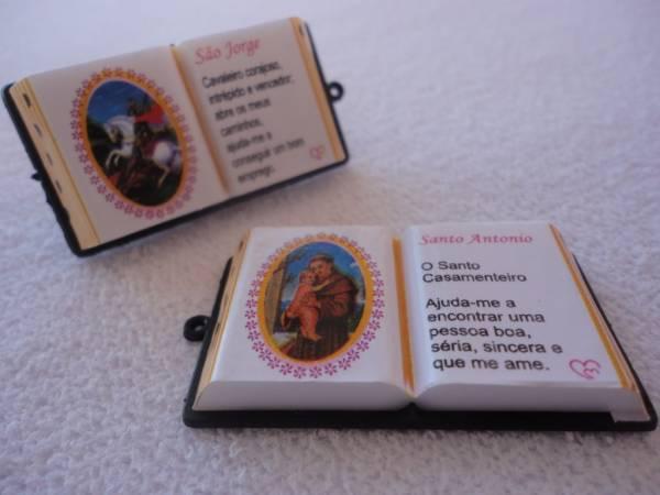 Foto 1 - Cód M838 Miniatura de bíblia (Santos) 1 un