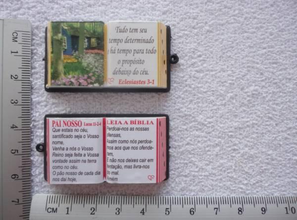 Foto4 - Cód M839 Miniatura de bíblia (diversos) 1 uni