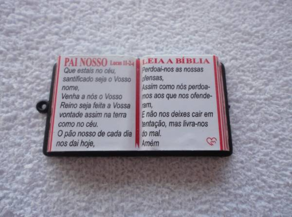 Foto3 - Cód M839 Miniatura de bíblia (diversos) 1 uni