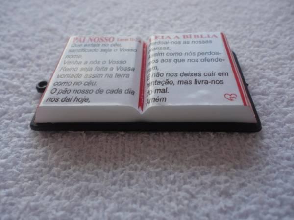 Foto 1 - Cód M839 Miniatura de bíblia (diversos) 1 uni