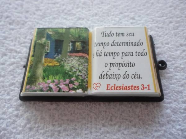 Foto2 - Cód M839 Miniatura de bíblia (diversos) 1 uni