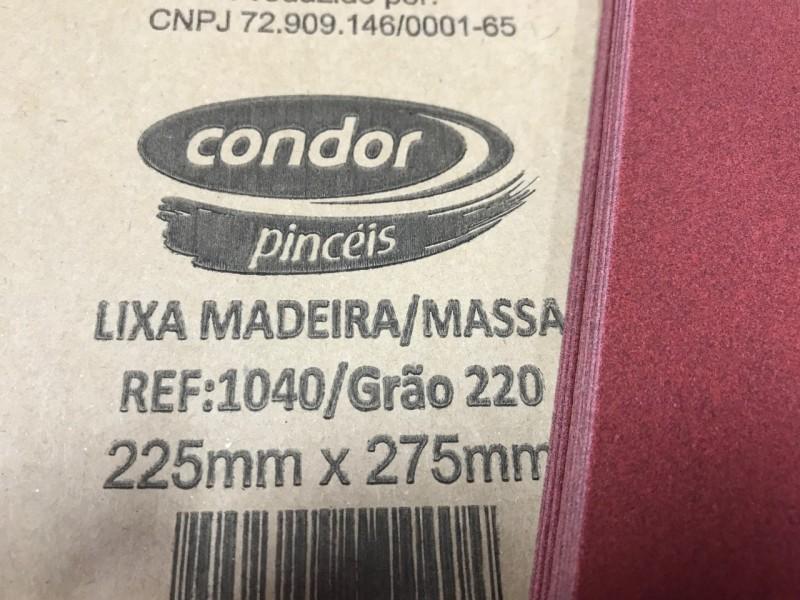 Foto2 - Cód M865 Lixa seco grao 220 1 un (Condor)