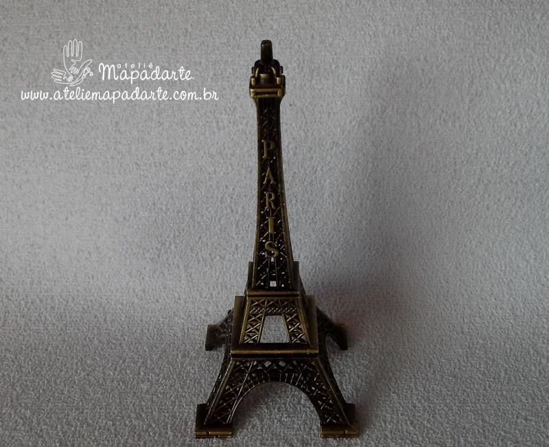 Foto 1 - Cód M888 Minitura de torre Eiffel (Paris) 01 un