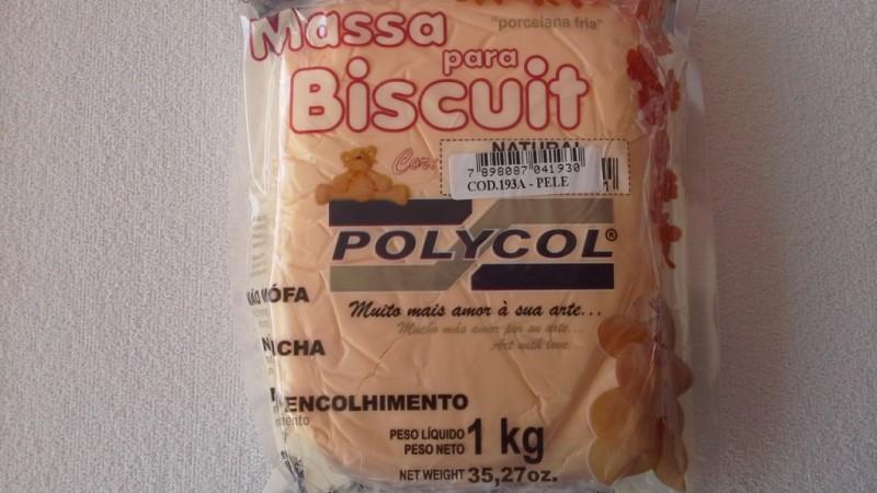 Foto 1 - Cód M901 Massa biscuit pele polycol 1 kg