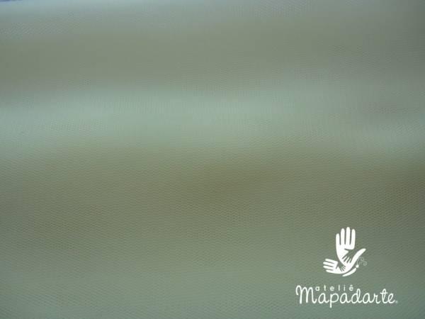 Foto2 - Cód M909 Micro tule amarelo