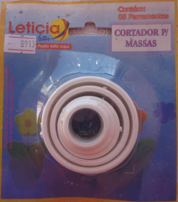 Foto 1 - Cód M913 Cortador redondo 5 peças (Leticia festas)