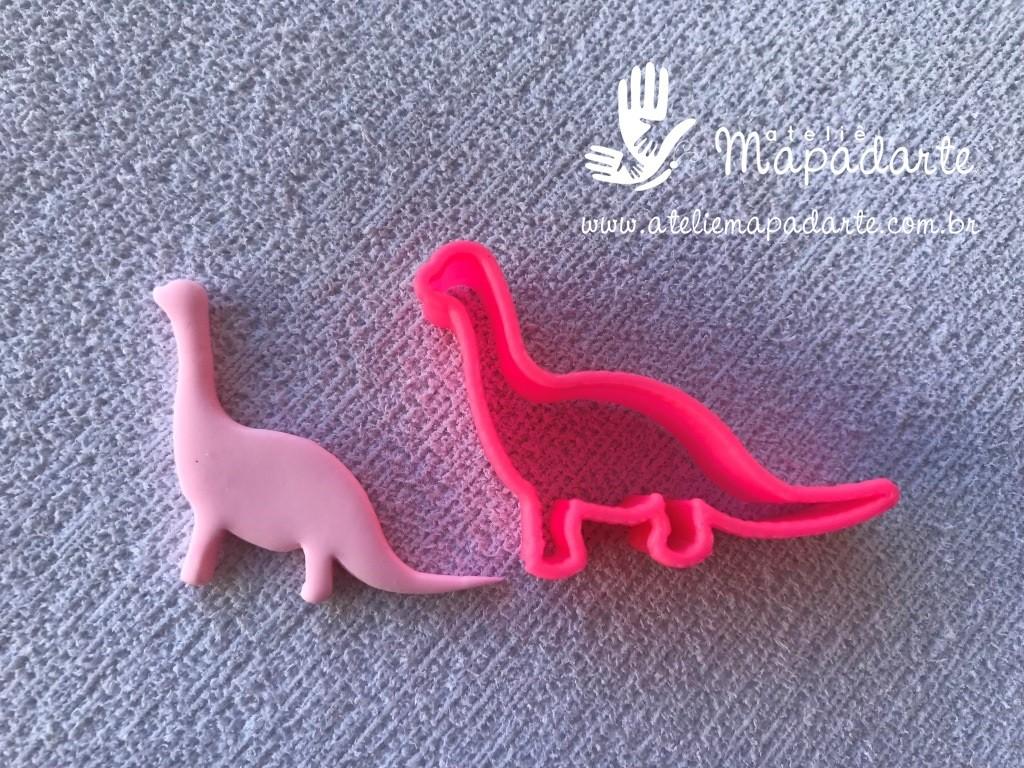 Foto 1 - Cód M938 Cortador de dinossauroem plástico PLA 01 un ref. 096-5 (AC)