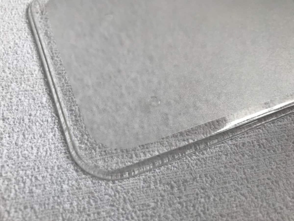 Foto2 - Cód M952 Base retangular transparente de acrílico 14.5x10cm 02 un
