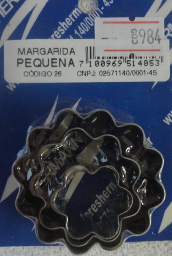 Foto 1 - Cód M984 Cortador inox de margarida P 3 peças (26) (H)