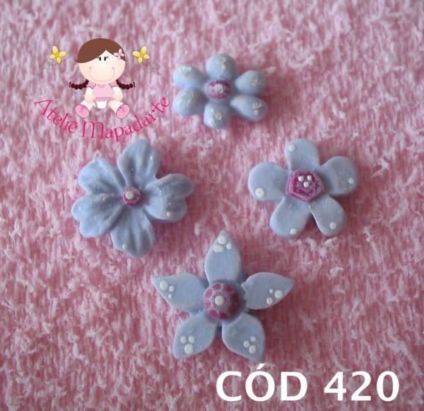 Foto 1 - Cód 420 Molde de flores com 4