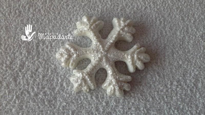 Foto 1 - cód 550 Molde de flocos de neve