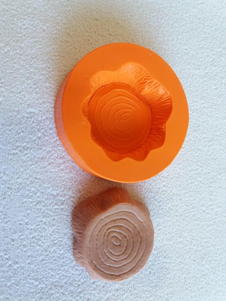 Foto2 - Cód 813 molde de silicone tronco 2