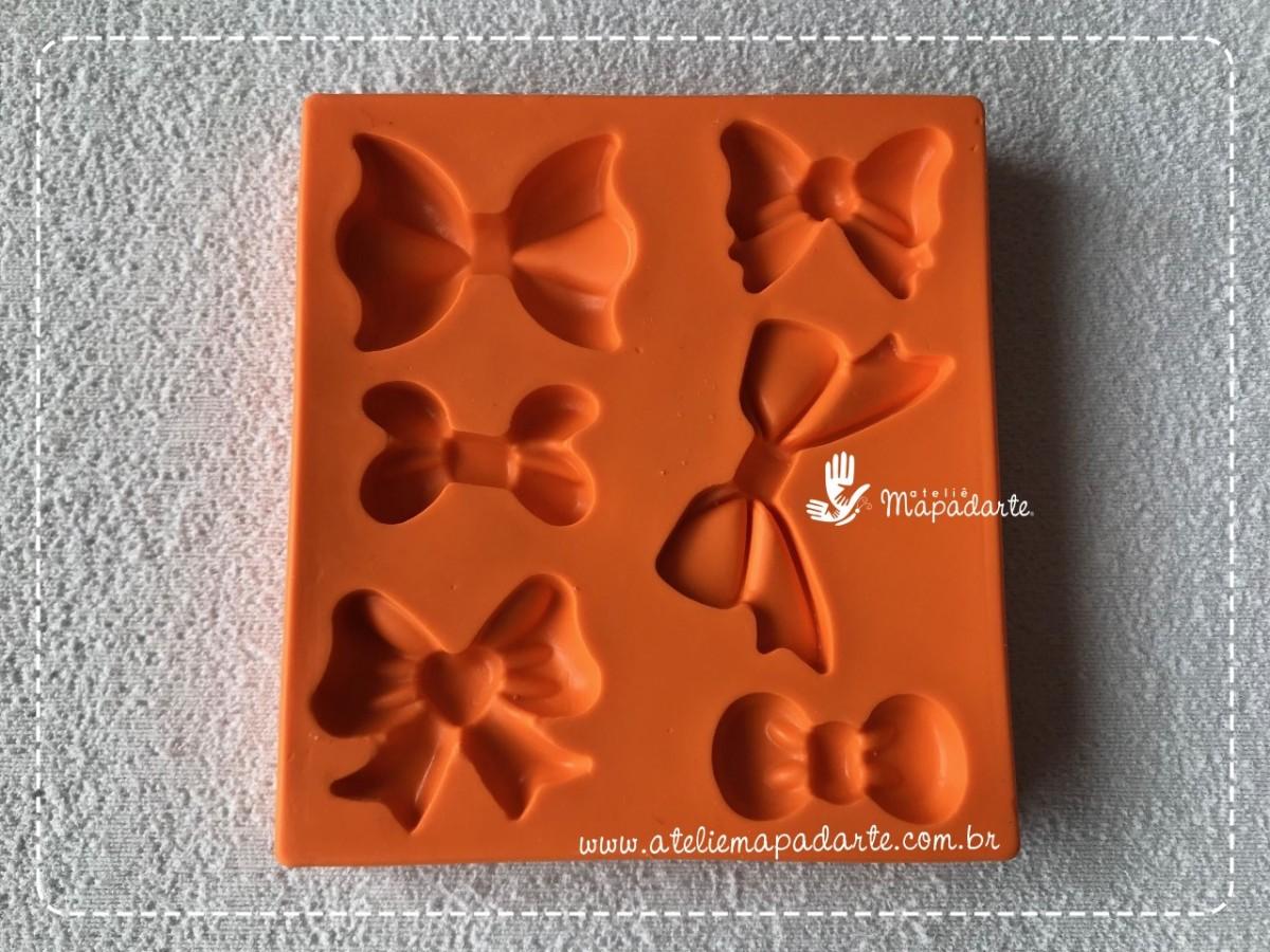 Foto3 - Cod 820 molde de laços lindos