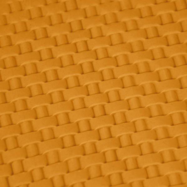 Foto3 - Cód M2464 Rolo individual textura cesta Blue star 12.3 cm de largura 01 un