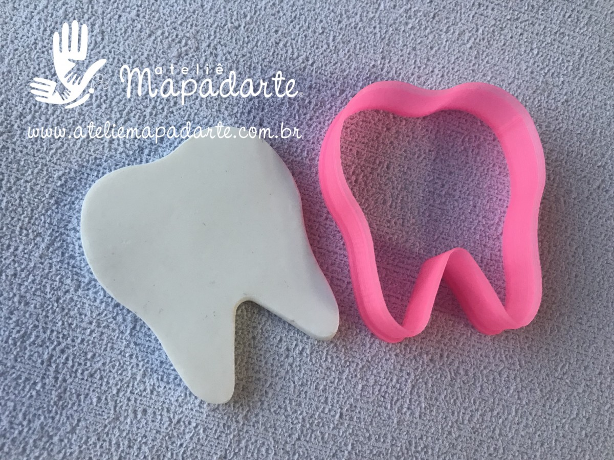 Foto 1 - Cód M2869 Cortador de dente em plástico PLA ref. 249-6 01 un (AC)