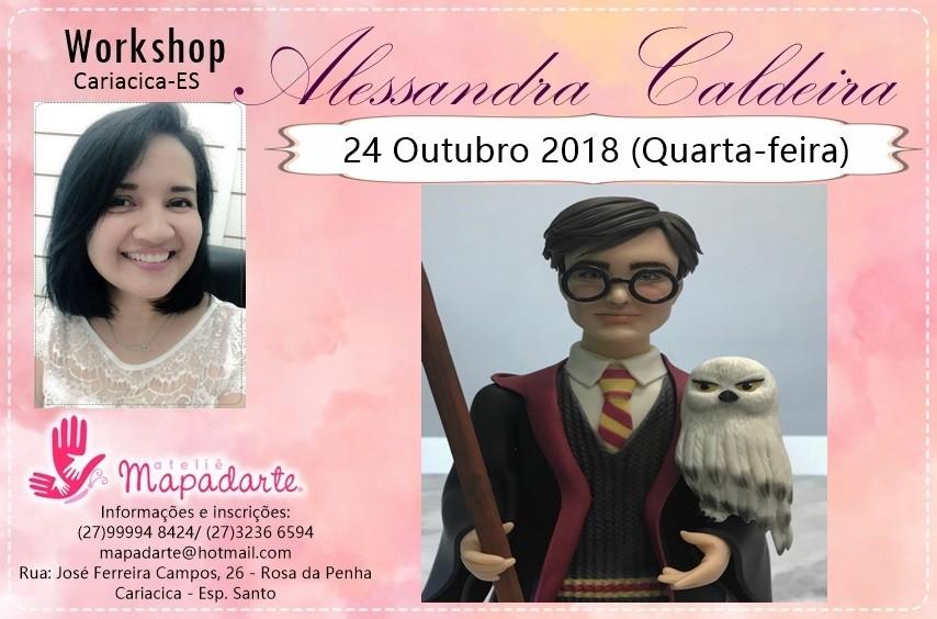 Foto3 - 3000 Workshop Alessandra Caldeira (01 AULA PRESENCIAL A ESCOLHER)