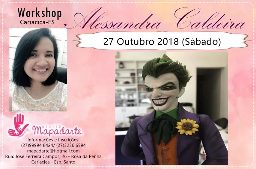 Foto6 - 3000 Workshop Alessandra Caldeira (01 AULA PRESENCIAL A ESCOLHER)