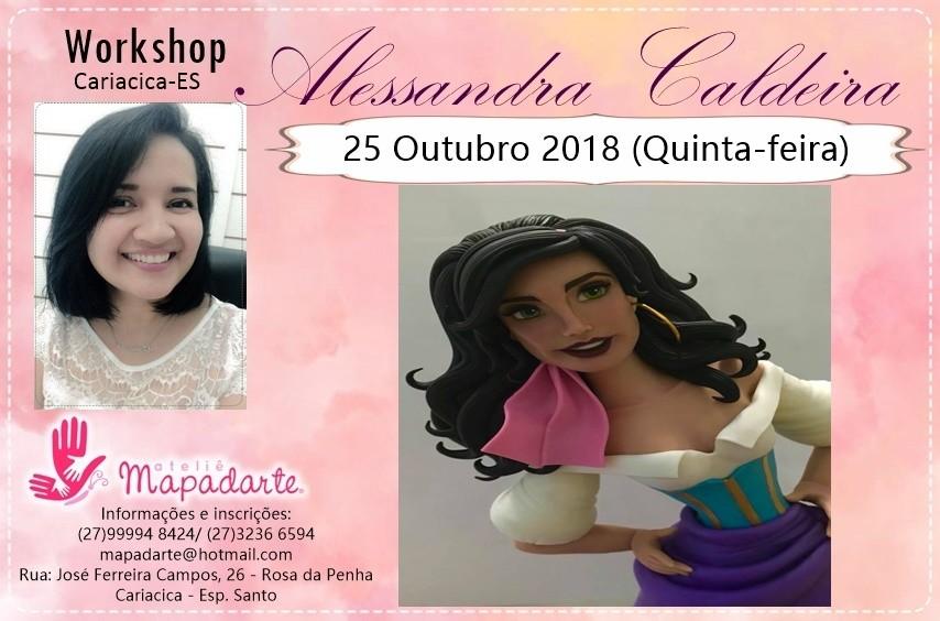 Foto4 - 3000 Workshop Alessandra Caldeira (01 AULA PRESENCIAL A ESCOLHER)