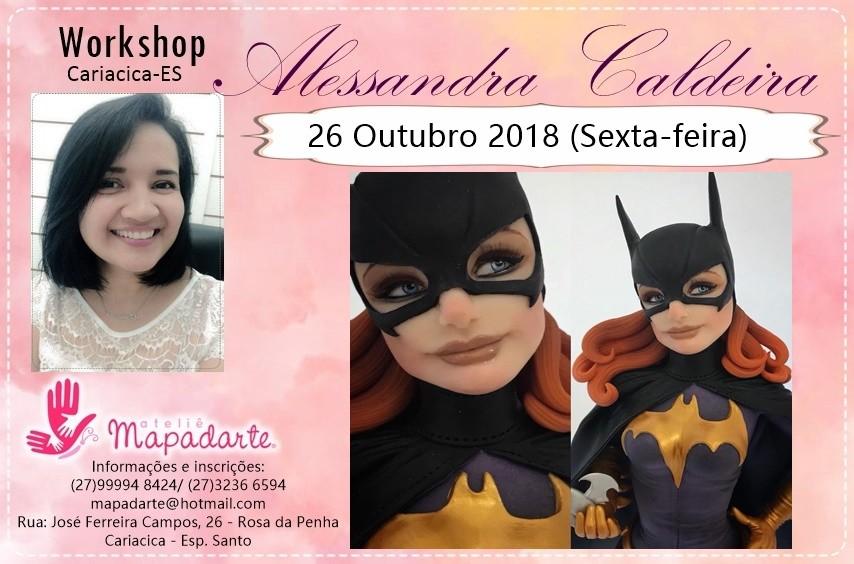Foto5 - 3000 Workshop Alessandra Caldeira (01 AULA PRESENCIAL A ESCOLHER)