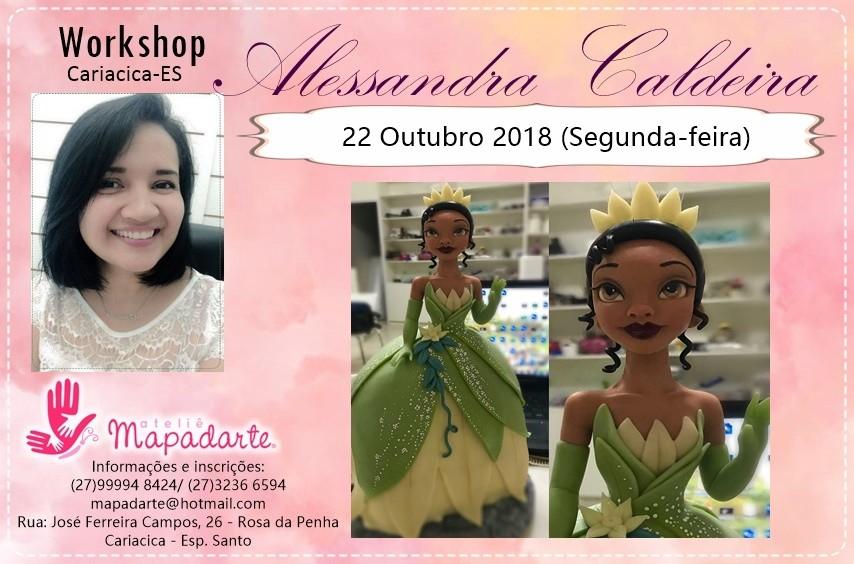 Foto 1 - 3000 Workshop Alessandra Caldeira (01 AULA PRESENCIAL A ESCOLHER)