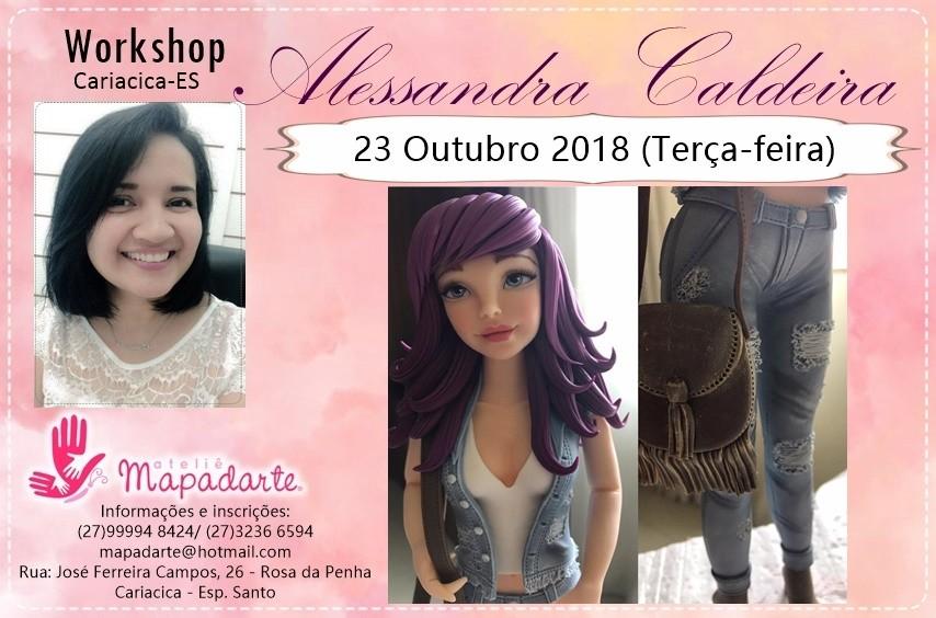 Foto2 - 3000 Workshop Alessandra Caldeira (01 AULA PRESENCIAL A ESCOLHER)