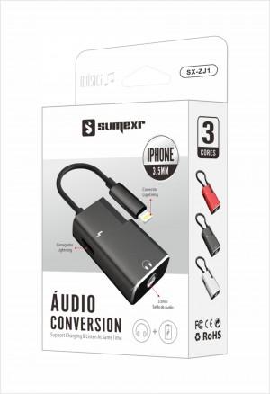 Foto1 - Adaptador para Iphone Sumexr SX-ZJ1
