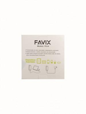 Foto2 - Cabo USB para iPhone 4 FAVIX FX-I4