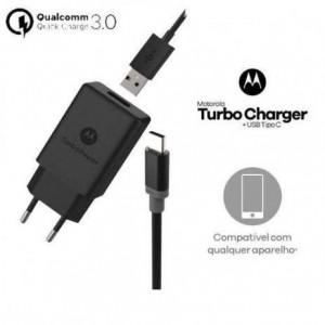 Foto1 - Carregador Turbo Motorola Usb-c Type-C