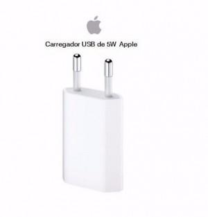 Foto1 - Carregador de parede para iPhone 5W