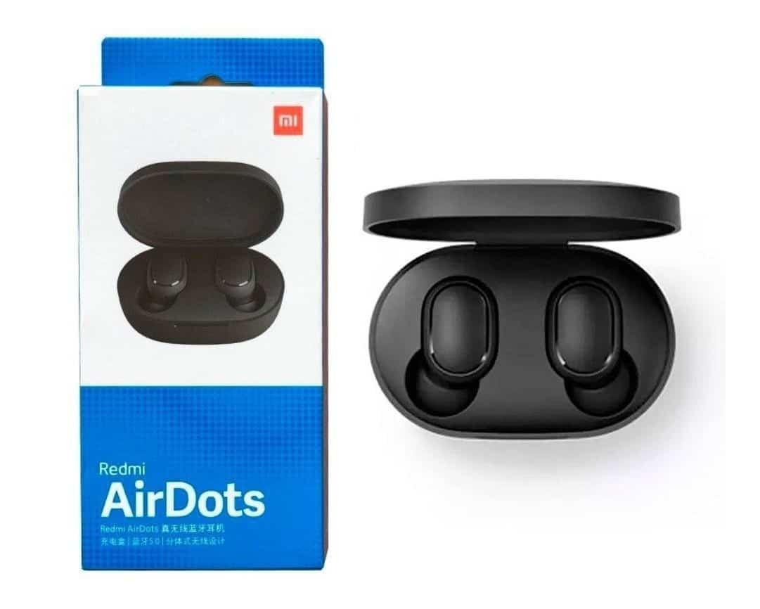 Imagem do produto Fones de ouvido Bluetooth Xiaomi AirDots B07R5PSTC9