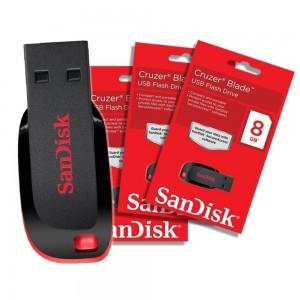 Foto1 - Pendrive Sandisk Cruzer Blade 8GB