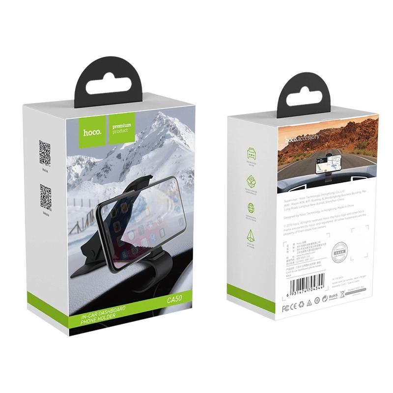 Imagem do produto Suporte Veicular painel de carro Hoco. CA50