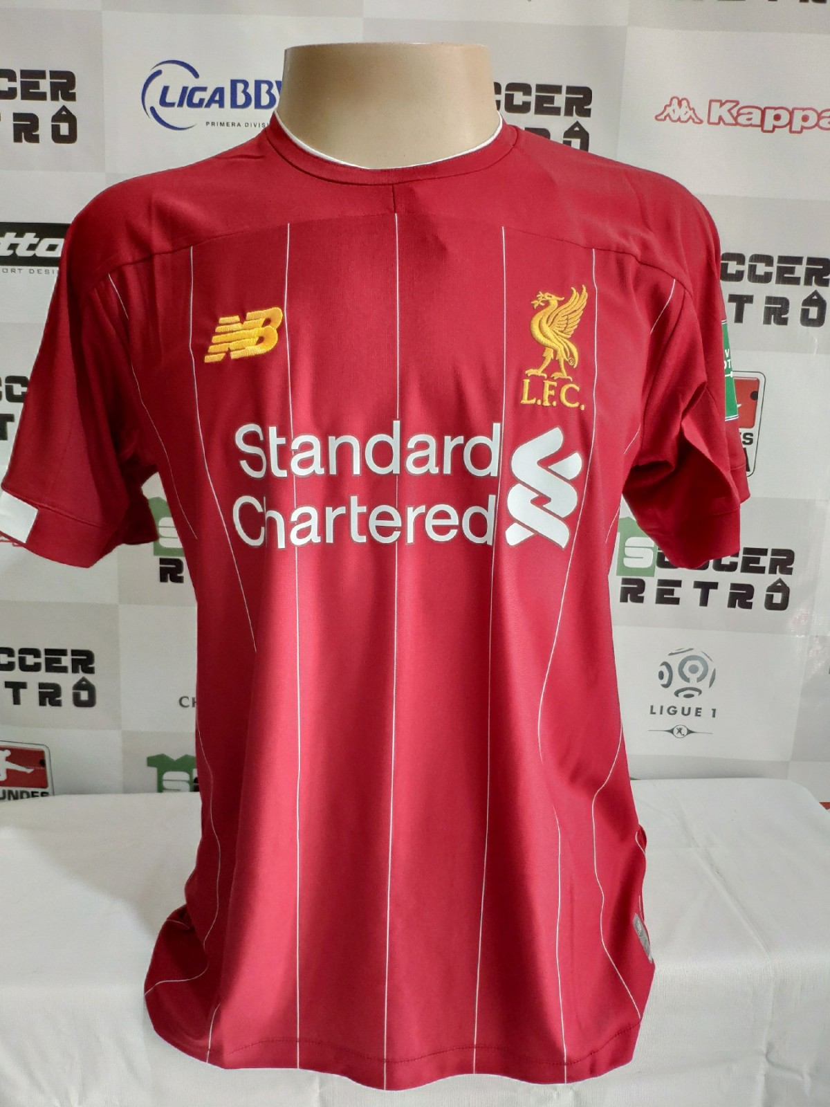 Camisa Liverpool 2019 20 Home E Away Soccer Retro