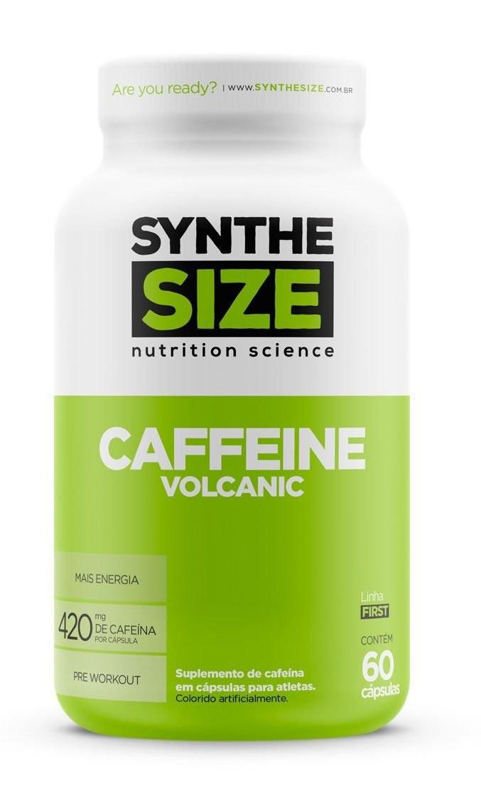 Imagem do produto Caffeine Volcanic 420mg (60caps) Synthesize