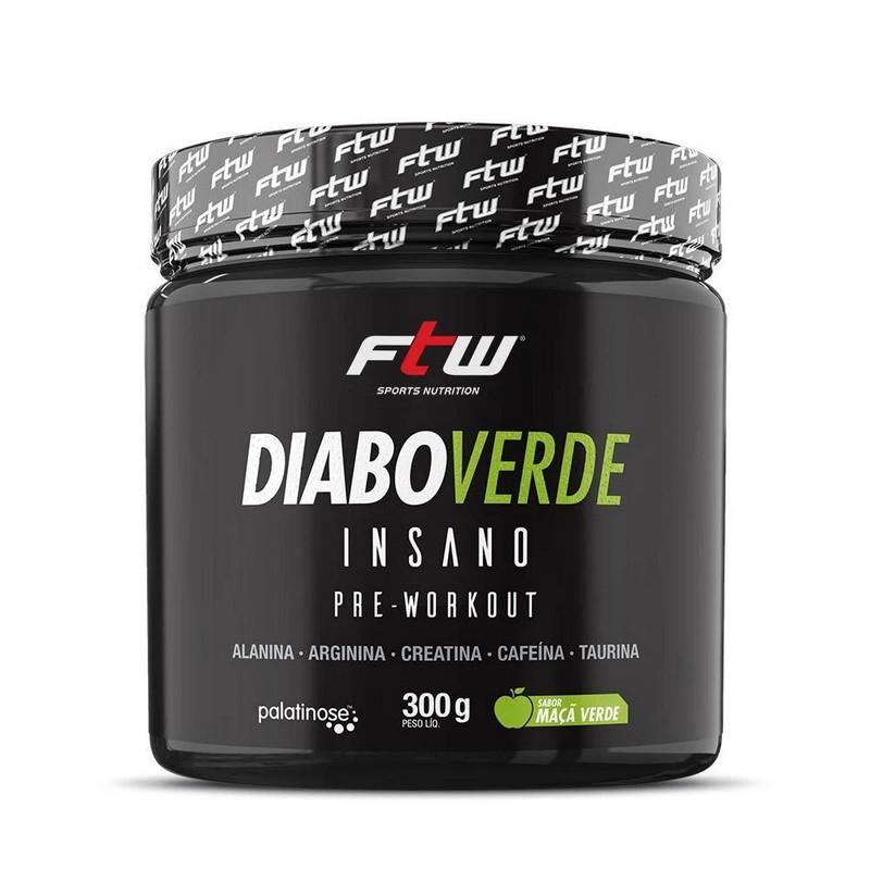 Imagem do produto Diabo Verde Insano 150g - Pré Treino FTW