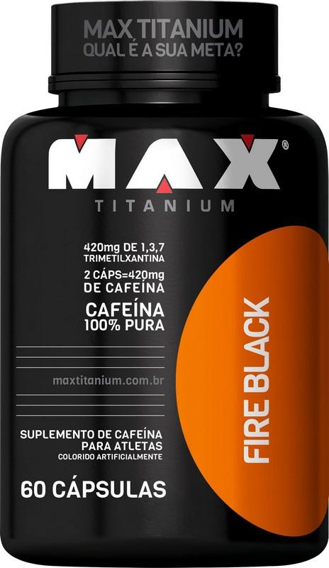 Imagem do produto Fire Black 60 Caps