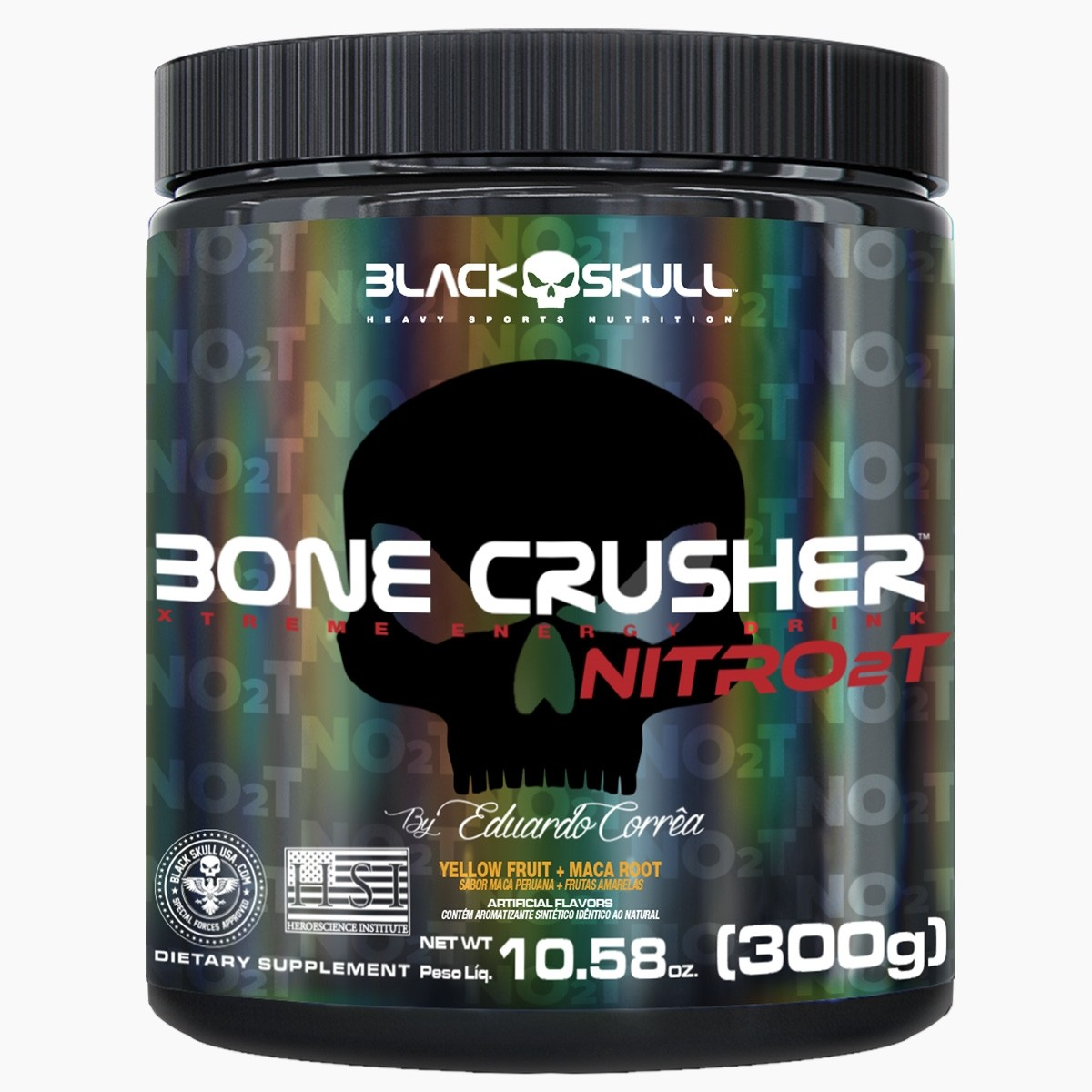 Imagem do produto NOVO BONE CRUSHER NITRO 2T - PRÉ-TREINO 300G