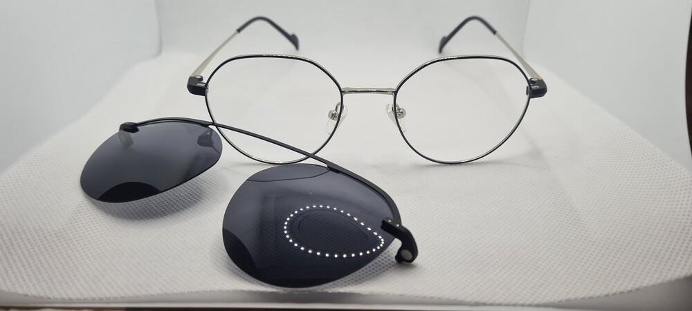 Foto 1 - Óculos Armação Clipon Annecy - COD.1340