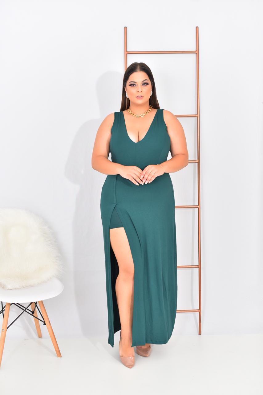 Imagem do produto vestido longo plus size