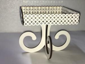 Foto3 - Bandeja Espelhada Luxo com Perolas