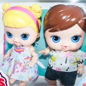 Foto6 - Boneca Babys Collection 18cm Mini Gêmeos