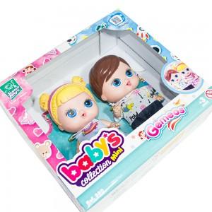 Foto3 - Boneca Babys Collection 18cm Mini Gêmeos