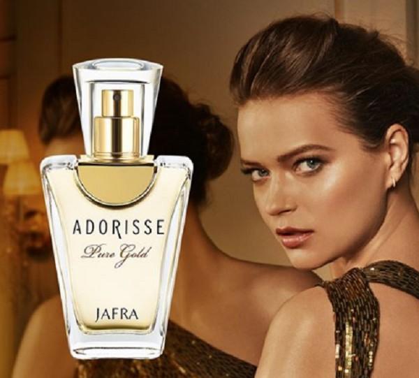 Foto2 - Perfume Importado Adorisse Pure Gold Feminino Original 50ML