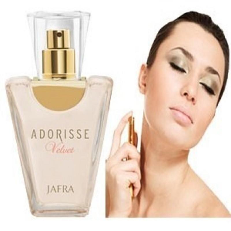 Foto2 - Perfume Importado Adorisse Velvet Feminino + Toalha de Banho Santista Verde 100% Algodão