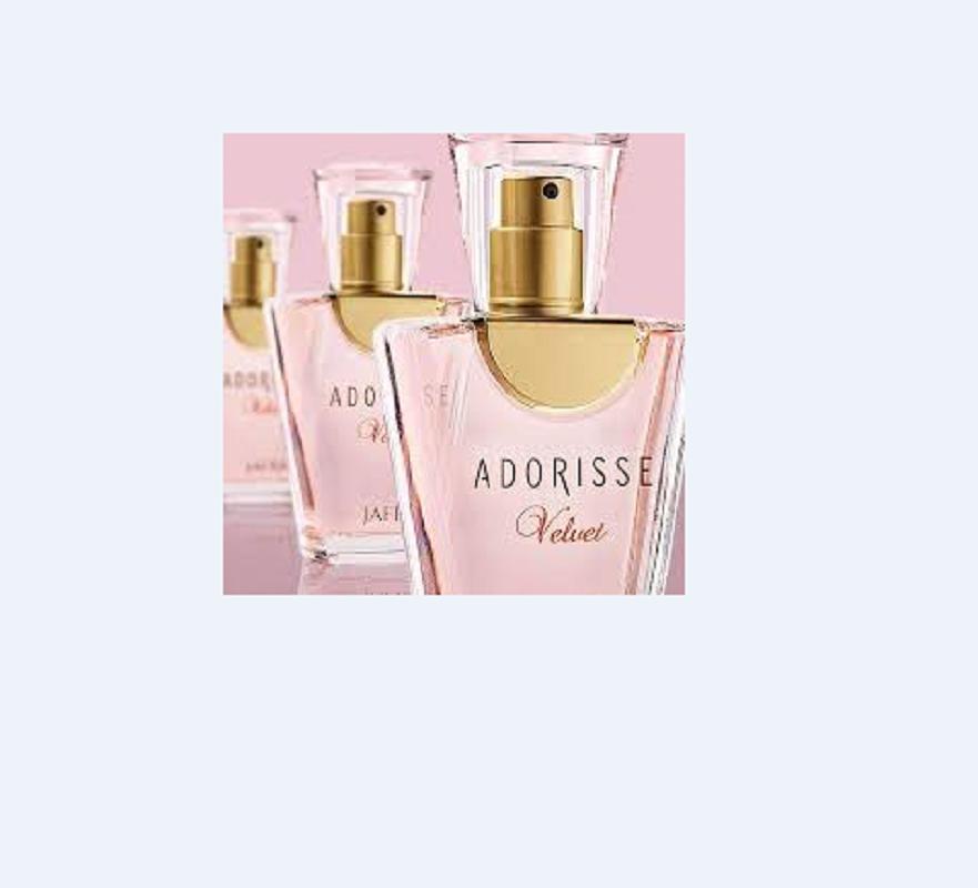 Foto5 - Perfume Importado Adorisse Velvet Feminino + Toalha de Banho Santista Verde 100% Algodão